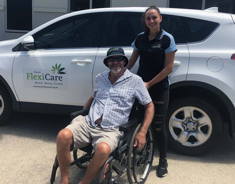 wheelchair lifts grant from Qcoal Foundation