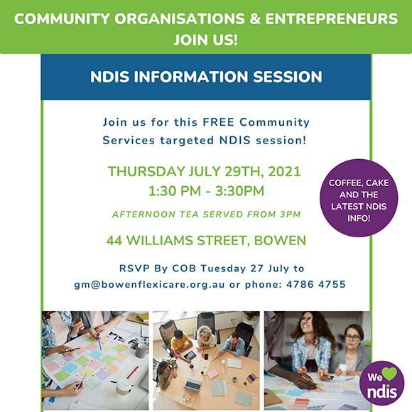 Community Organisation NDIS event