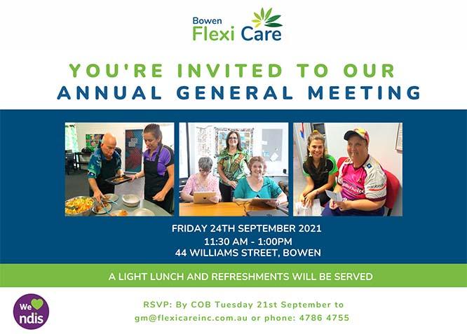 BFC AGM invitation